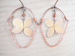 Hydrangea Ripple Earrings
