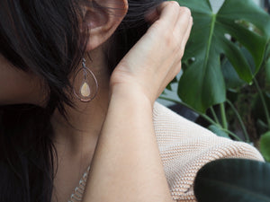 Petal Droplet Earrings