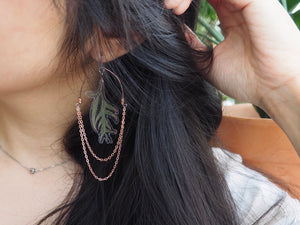 Leaf Ripples Earrings