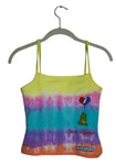 Square Neck Cami Top, Tie Dye, Greatful Dead