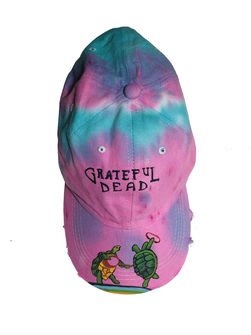 GreatFull Dead Hat (Rainbow turtles)