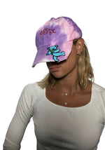 Baseball Cap, Unisex, Tie Dye, Greatful Dead Bear