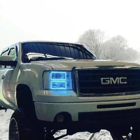 GMC Sierra (07-13) Halo Kit - Street Ambitionz Automotive Lighting