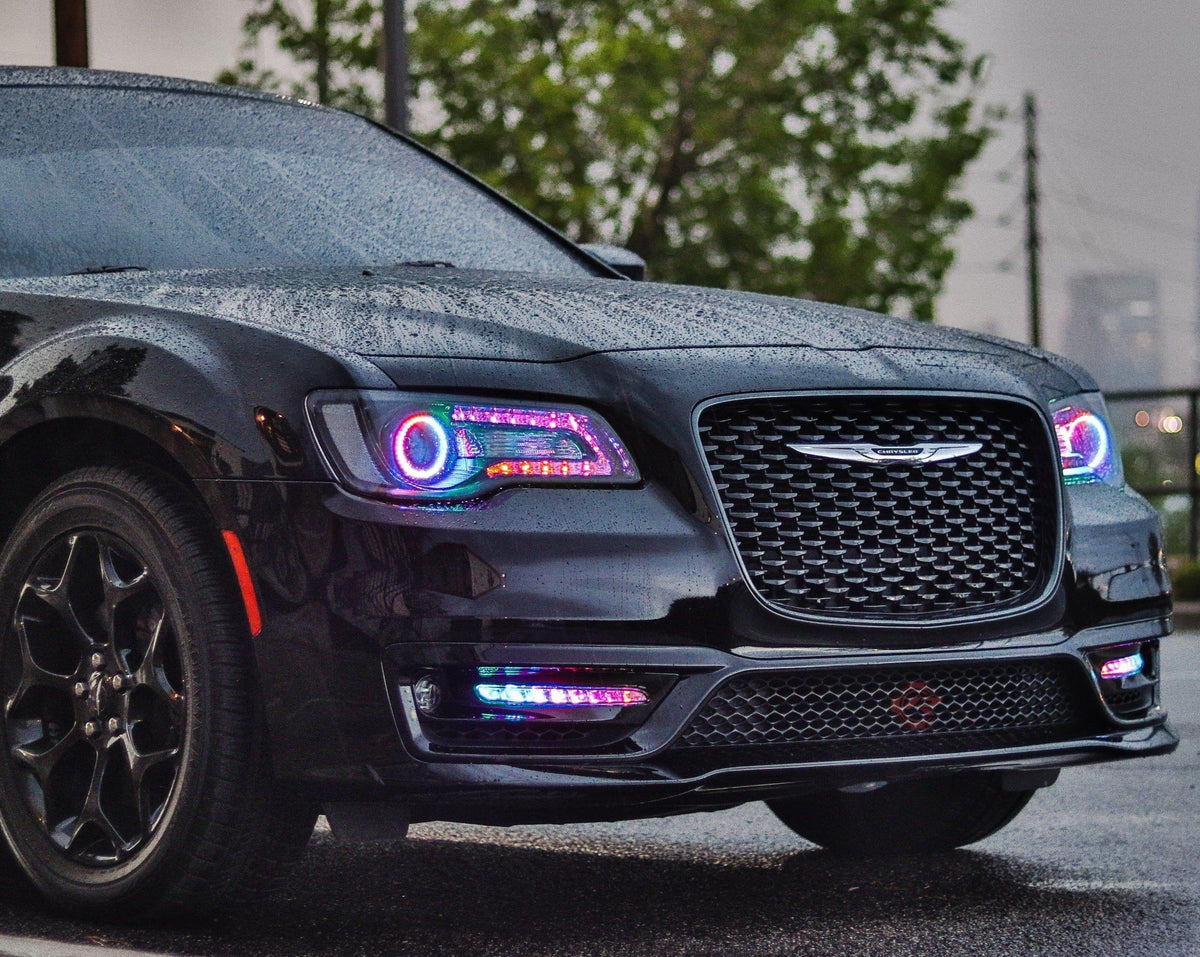 Chrysler 300 (11-18) Flow Series DRL Boards - Street Ambitionz