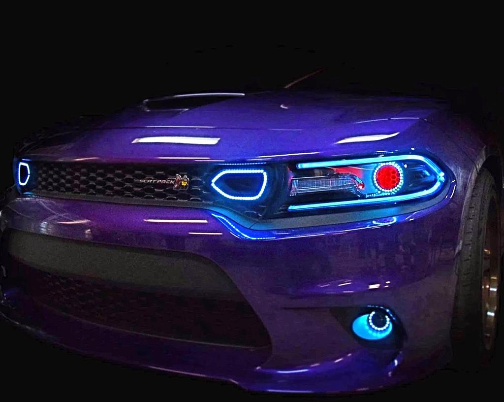 Dodge Charger (19+) Waterproof Snorkel Halos - Street Ambitionz