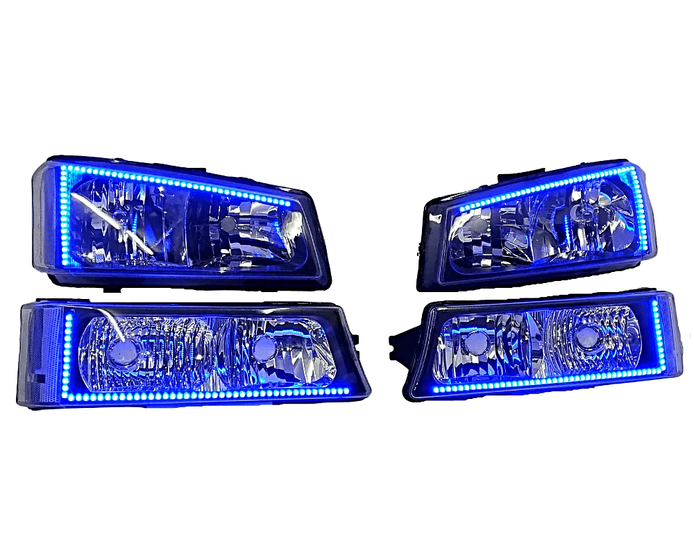 03-06 Chevy Silverado Custom Headlights - Street Ambitionz
