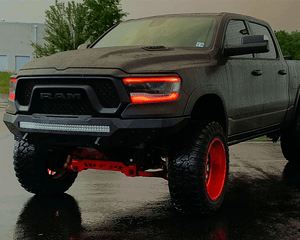 Dodge Ram (19+) RGBWA DRL Boards - Street Ambitionz
