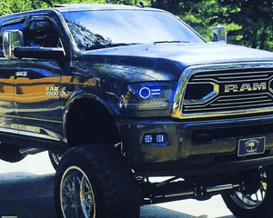 Dodge Ram Projector (13-17) Halo Kit - Street Ambitionz