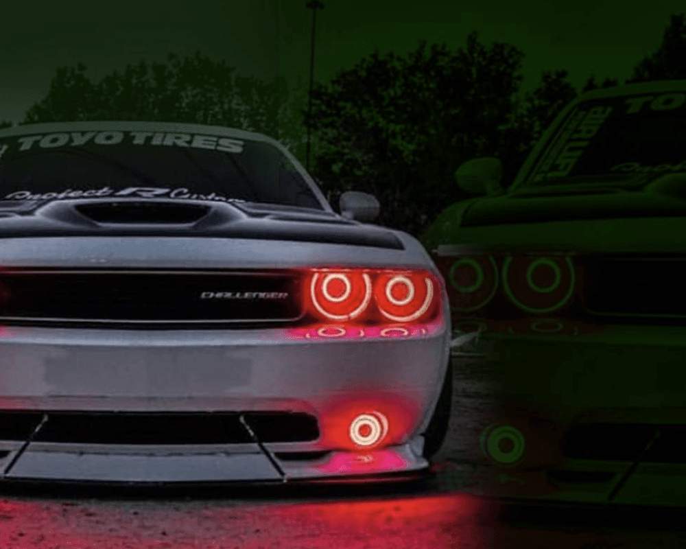 Dodge Challenger (15+) Projector Halo Kit - Street Ambitionz