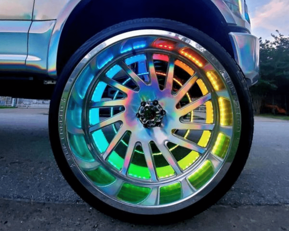 Galaxy Wheel Ring (Single Row or Double Row) - Street Ambitionz