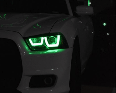 Dodge Charger (11-14) Spec-D Flow Series DRL Boards - Street Ambitionz