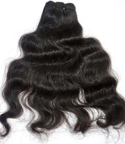 100% Raw Single Donor Indian Hair Extensions - Wavy - Farrah Beauty