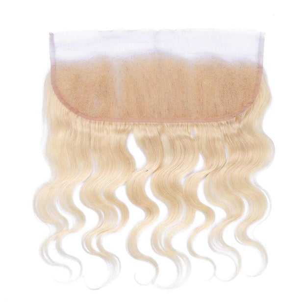 Russian Blonde Brazilian Lace Frontal - Body Wave