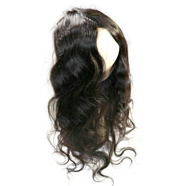 Virgin Brazilian 360 Lace Band Frontal - Body Wave - Farrah Beauty