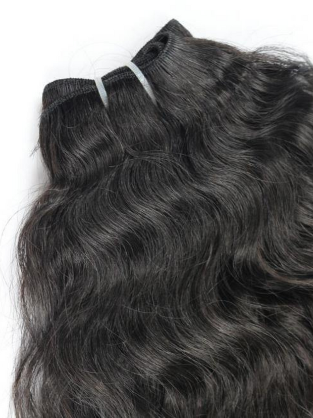 100% Raw Indian Hair Extensions - Natural Curly