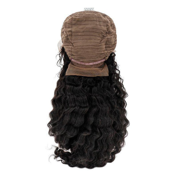 Brazilian Front Lace Wig - Deep Wave - Farrah Beauty