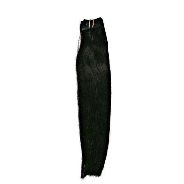 Clip-in Hair Extensions - Jet Black - Clip-In Hair extensions