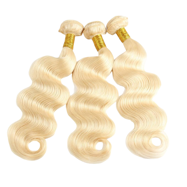 Russian Blonde Indian Hair Extensions - Body Wave