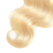 Russian Blonde Indian Lace Closure - Body Wave