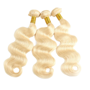 Russian Blonde Brazilian Hair Extensions - Body Wave