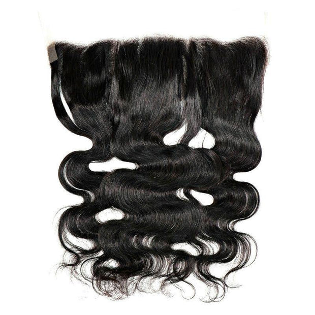 Virgin Brazilian Lace Frontal - Body Wave - 12 - Lace Frontal