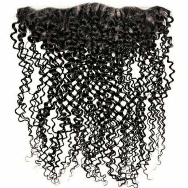 Virgin Brazilian Lace Frontal - Kinky Curly - Lace Frontal