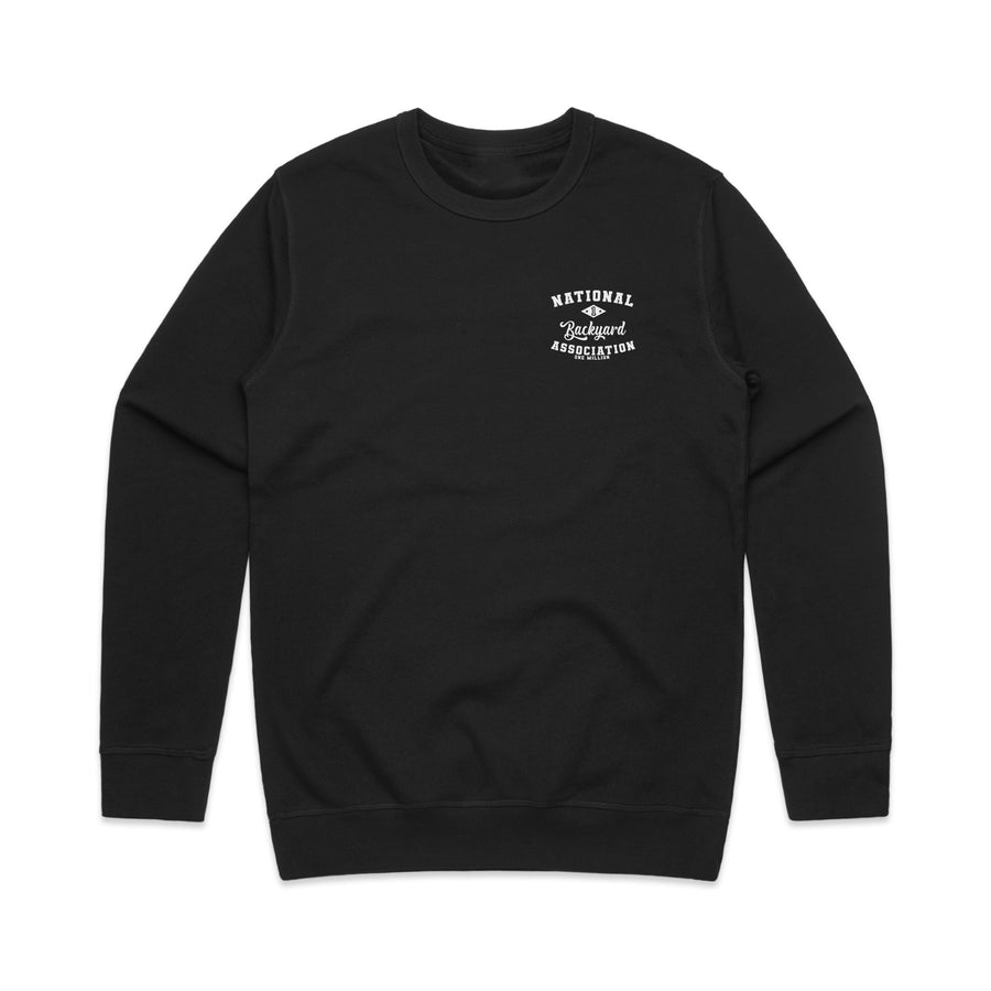 Backyard Crewneck Black