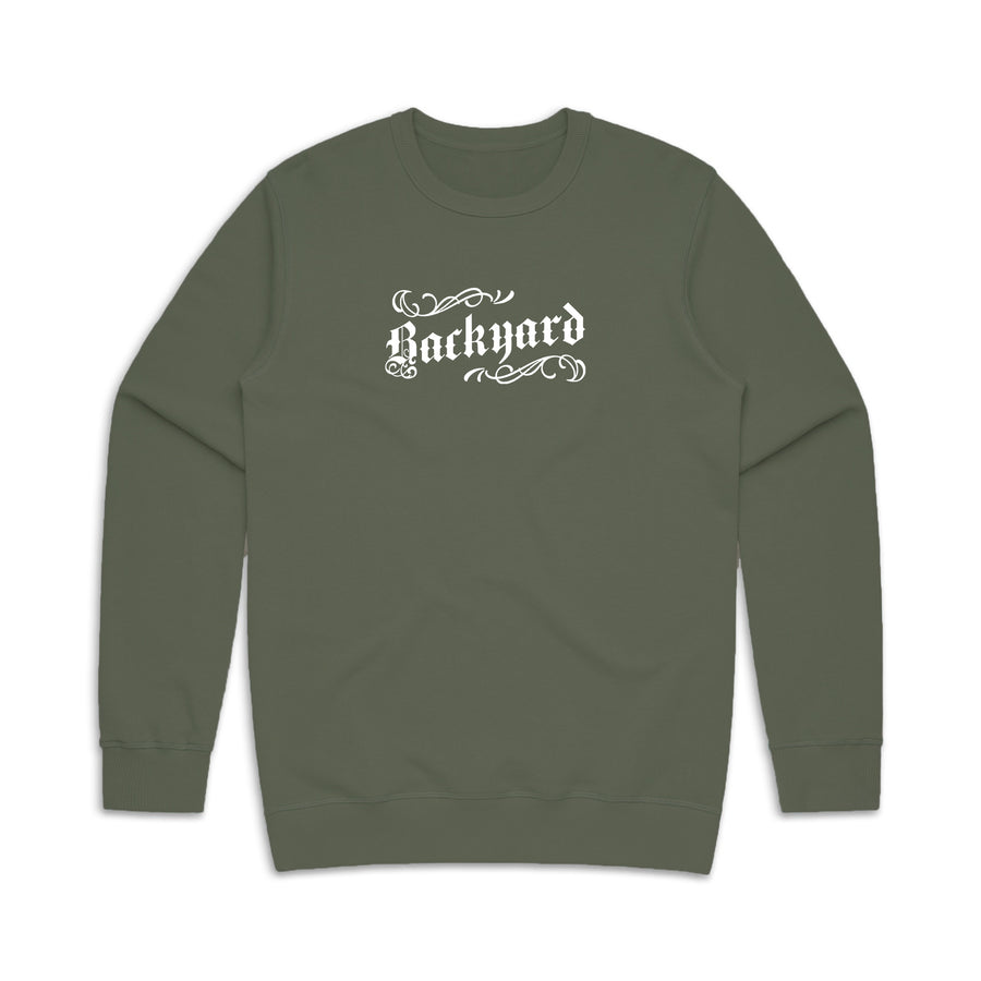 marcelas army crewneck