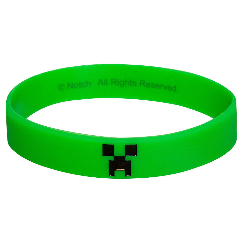 MINECRAFT Creeper gumi karkötő