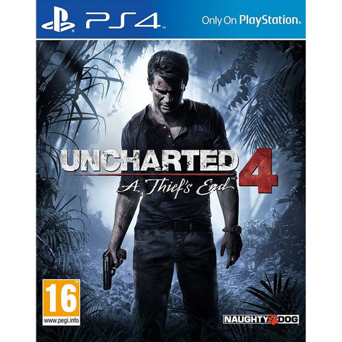 Uncharted 4: A Thief`s End szoftver -  PS4