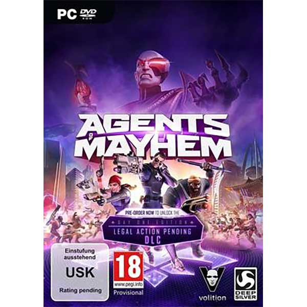 Agents of Mayhem Retail Edition -  PC