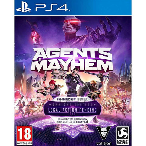 Agents of Mayhem Retail Edition -  PS4