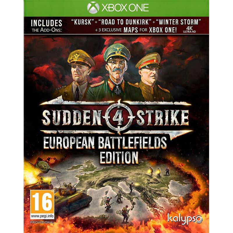 Sudden Strike 4 European Battlefield Edition -  Xbox ONE