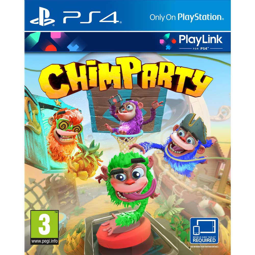 Chimparty -  PS4