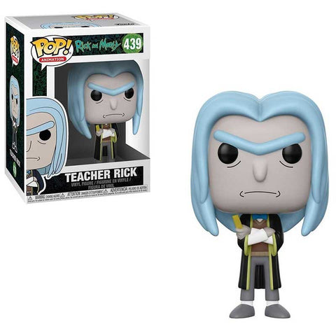 POP Movies  Rick és Morty Teacher Rick figura