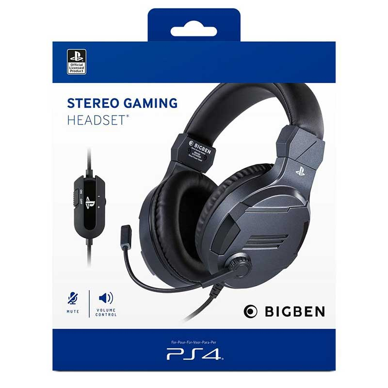 Stereo Gaming Headset V3 Titánszürke - PS4
