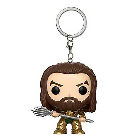 Pocket POP Justice League - Aquaman kulcstartó