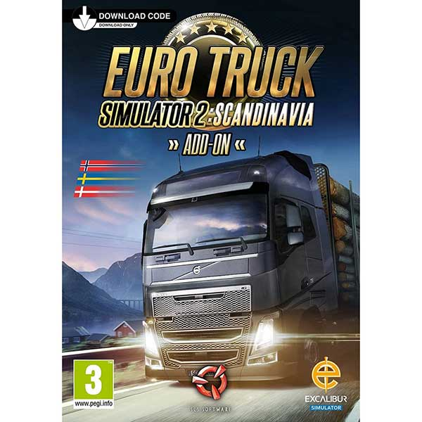 Euro Truck Simulator 2: Scandinavia - PC