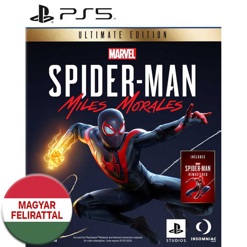 Marvel's Spider-Man Miles Morales Ultimate Edition - PS5