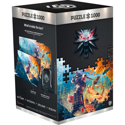 The Witcher: Griffin Fight 1000 darabos puzzle