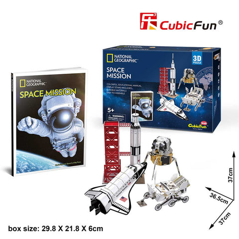 3D puzzle - Space Mission (80 db-os)