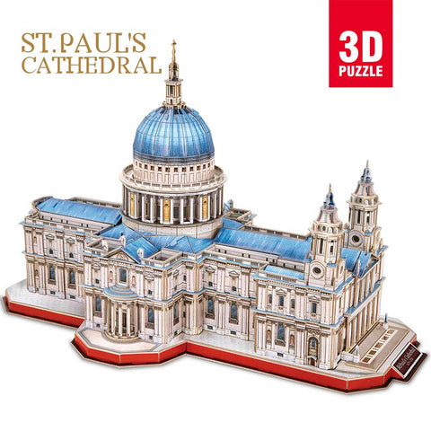 3D puzzle - St Paul's Cathedral (643  db-os)
