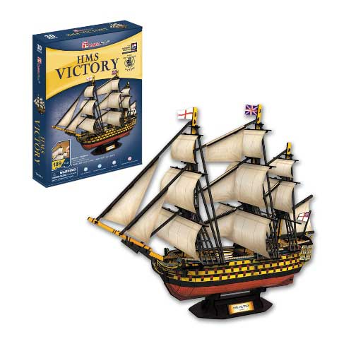 3D puzzle - HMS Victory (189 db-os)