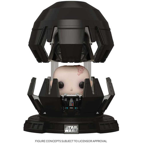 POP Deluxe: STAR WARS - Darth Vader in Mediation Chamber figura