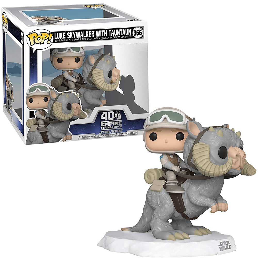 POP Deluxe: STAR WARS - Luke on Taun Taun figura