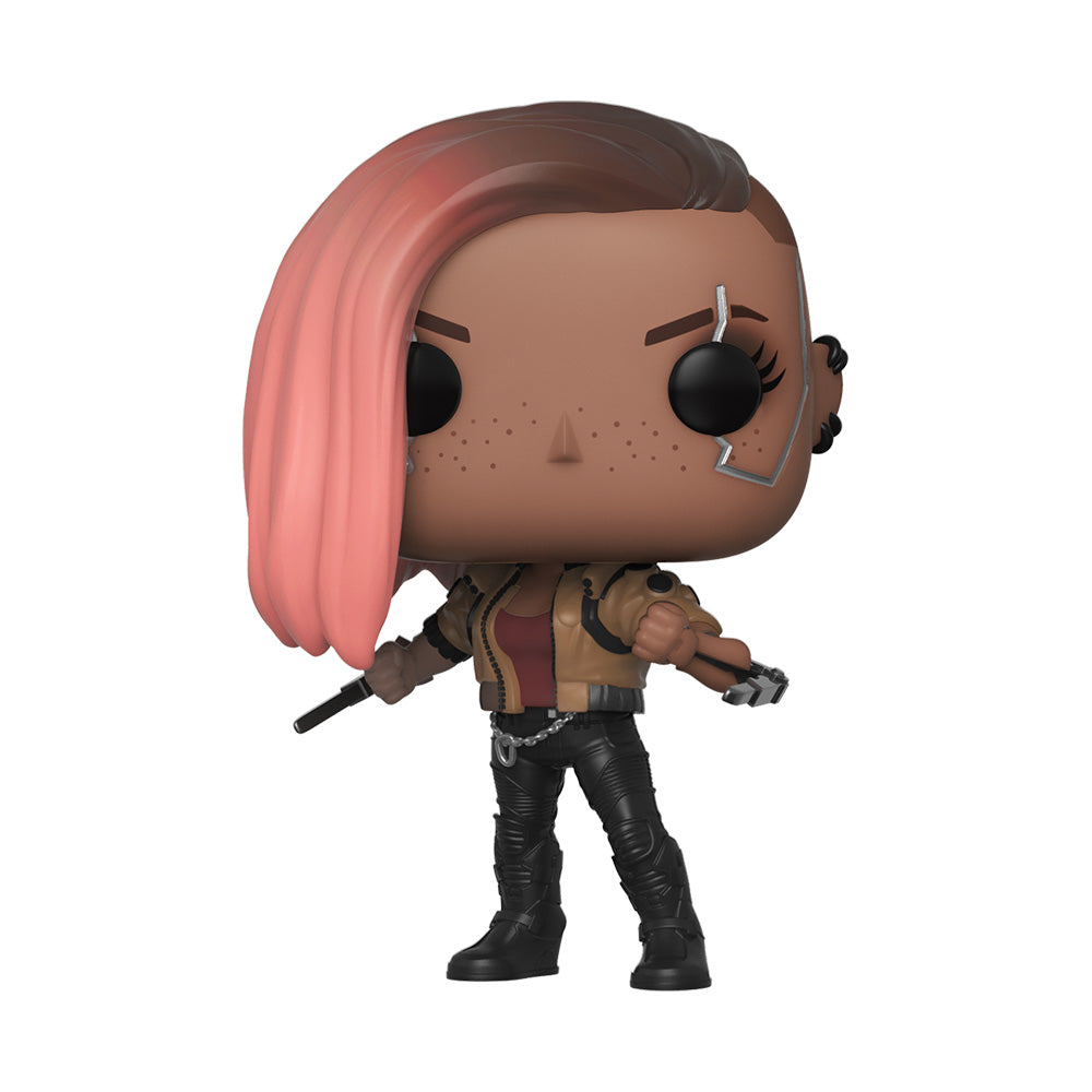 POP Games: Cyberpunk 2077 - V-Female figura