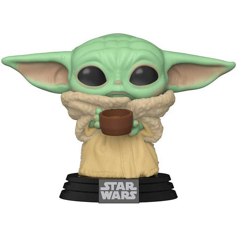 POP Movies The Mandalorian The Child with cup figura