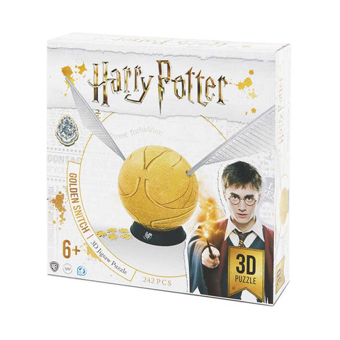 HARRY POTTER - Aranycikesz 3D puzzle