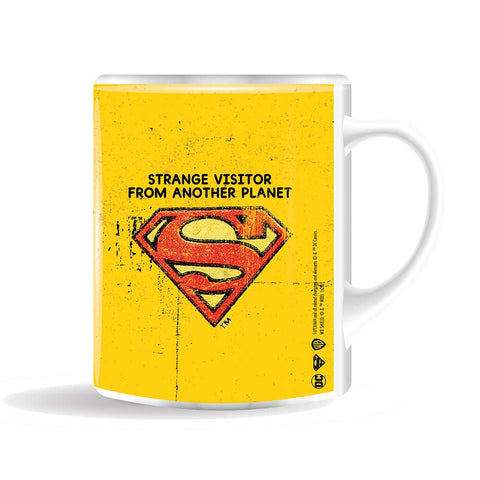 SUPERMAN Strange visitor bögre (400 ml)