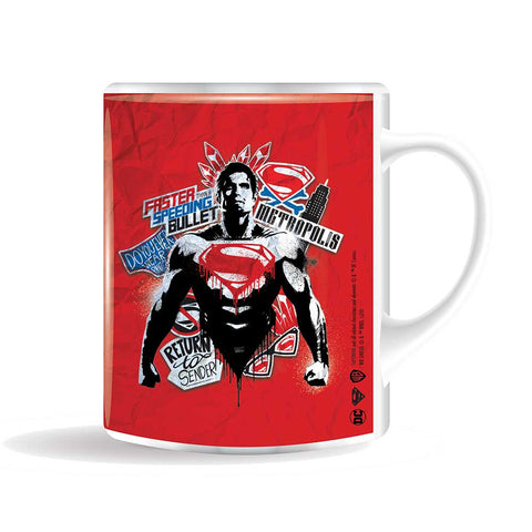 SUPERMAN Metropolis bögre (400 ml)